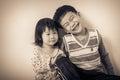 Little asian (thai) children happily