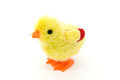 Little baby chicken toy Royalty Free Stock Photo