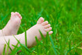 Little baby feet Stock Photos