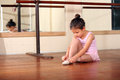 Little ballerina Stock Photos