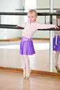 Little Ballet girl Royalty Free Stock Photo