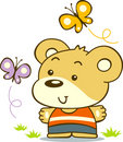 Little Bear Royalty Free Stock Images