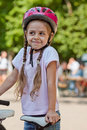 Little biker Royalty Free Stock Photo