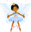Little blue fairy Royalty Free Stock Image