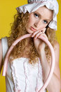 Little Bo Peep Costume Stock Image