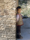 Little Boy, Chine Photo libre de droits