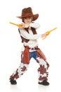 Little boy cowboy Royalty Free Stock Photo