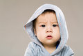 Little boy feeling confused Royalty Free Stock Photo