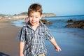 Little Boy goofing around Royalty Free Stock Photo