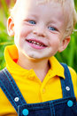 Little boy is happy Royalty Free Stock Images
