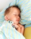 Little boy sleeping Stock Photography