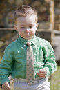 Little Boy with tie Royalty Free Stock Images