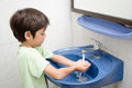 Little boy washing hand Royalty Free Stock Photo