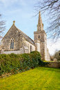 Little bredy church the of st michael and all angels at dorset england uk europe Royalty Free Stock Photo