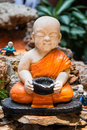 Little Buddha Sculpture Royalty Free Stock Photo
