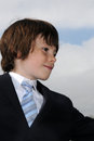 Little businessman Royalty Free Stock Photography