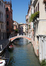 Little canal in Venice Royalty Free Stock Photo