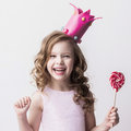Little candy princess Royalty Free Stock Photo