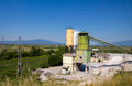 Little cement plant Royalty Free Stock Photo
