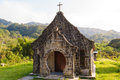 A little church in the mountains taiwan Stock Photos
