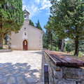 Little church old in istrien croatia Stock Photos