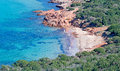 Little cove capo coda cavallo sardinia Stock Image