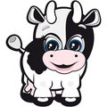 Little cow Royalty Free Stock Photo