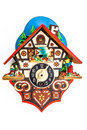 Little Cuckoo Clock Stock Images