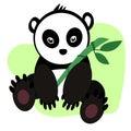 Little cute panda Royalty Free Stock Photo