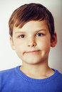 Little Cute Real Boy Happy Smi...