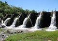 Little dam in Villa Serrana, Uruguay Stock Photo