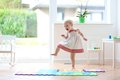Little dancing girl Royalty Free Stock Photo