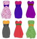 Little dresses Royalty Free Stock Photos