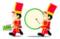 Little drummer boy Stock Image