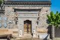 Little east graden gate this photo was taken in laomendong scenic spot nanjing city jiangsu province china Stock Photo