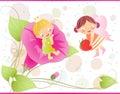 Little fairies Royalty Free Stock Photo
