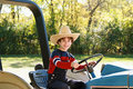 Little Farmer Royalty Free Stock Photo