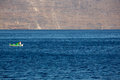 Little fisher boat on the aegean sea fishers fish is such an important part of greek diet for such a small country there is a lot Royalty Free Stock Photo