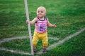 Little footballer Royalty Free Stock Photo
