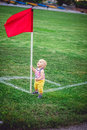 Little footballer Royalty Free Stock Photo