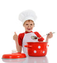 Little funny chef Royalty Free Stock Photo