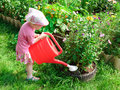 Little gardener Stock Photography