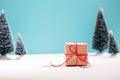 Little Gift Box In Miniature E...