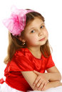 Little girl 5 years old Stock Photography