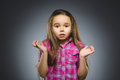 Little Girl With Astonished Ex...