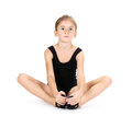 Little girl ballerina, Stock Photography