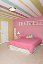 Little Girl Bedroom Stock Photos