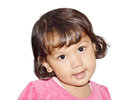 Little girl cute smile Royalty Free Stock Images