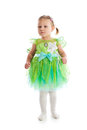 Little girl in fairy costume Stock Photo