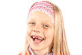 Little girl with missing front teeth Royalty Free Stock Photography